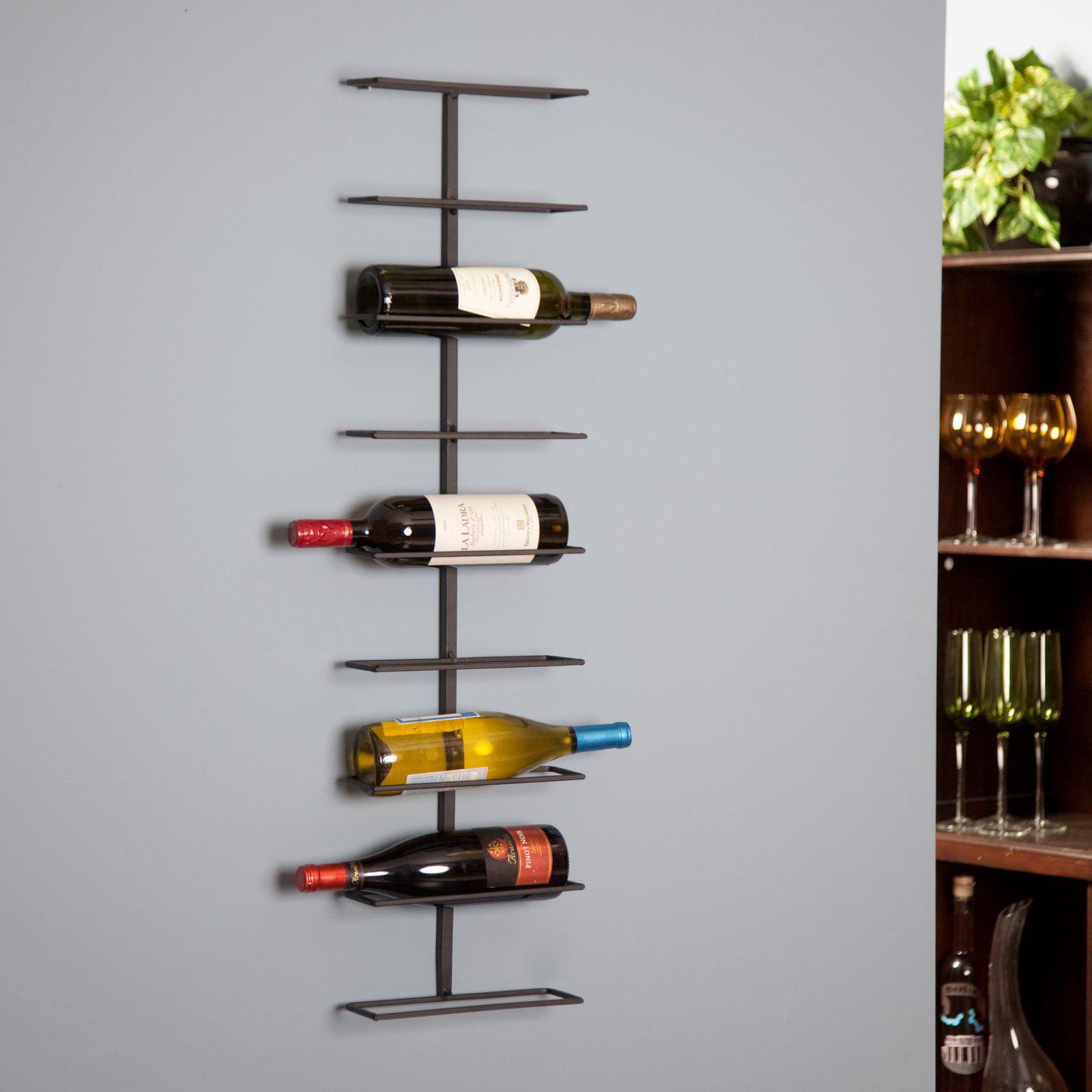 Oenophilia Wine Ledge 9-Bottle Wall Wine Rack by Oenophilia