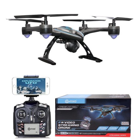 Contixo F5 FPV RC Quadcopter Drone Wi-Fi Camera, Black