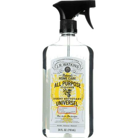 J.R. Watkins All Purpose Cleaner, Lemon Scent, 24 Oz (J R Watkins Toilet Cleaner)