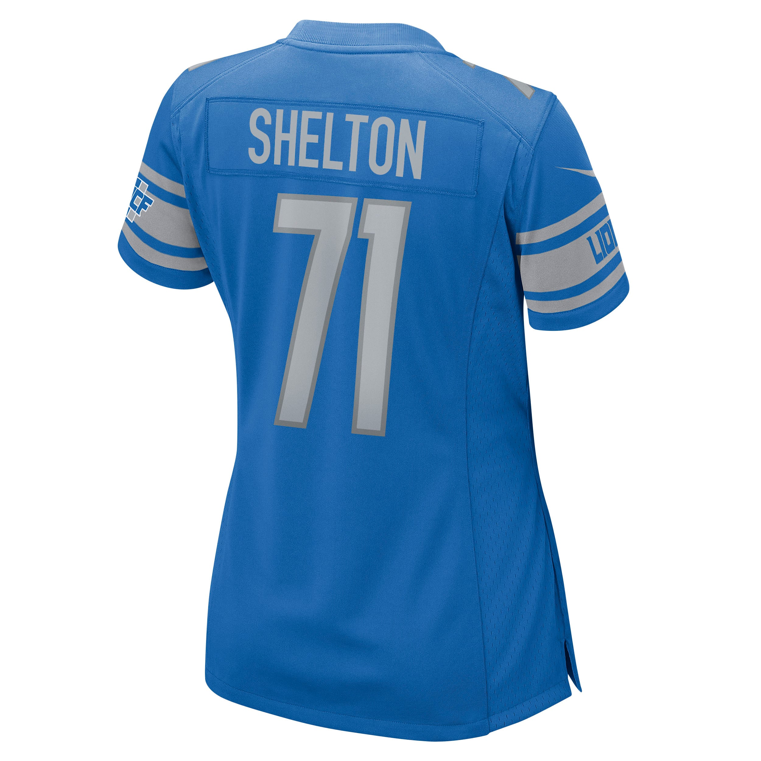 Danny Shelton Detroit Lions Nike Women's Game Jersey - Blue