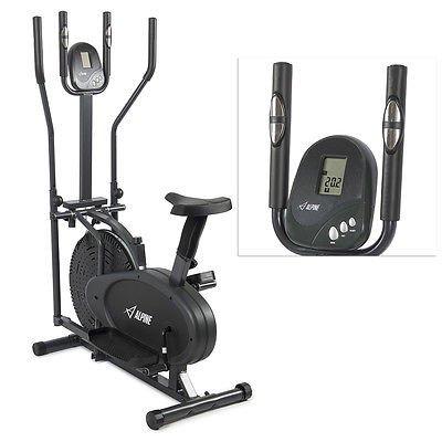 OnlyTheBest 2 IN 1 Cross Trainer Elliptical Bike Exercise Fitness Machine Upgraded Model NEW [Istilo274869]