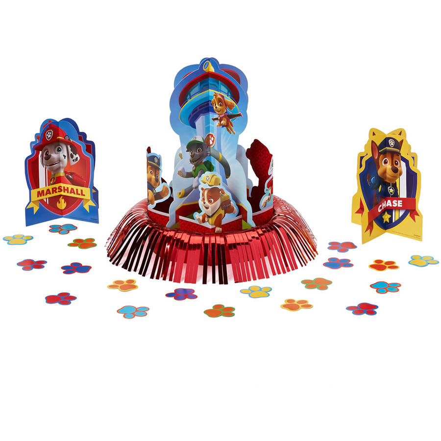 Paw Patrol Table Decorations, Party Supplies