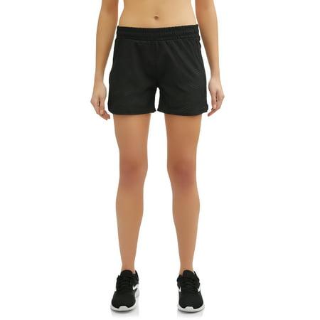 Women's Active Running Short with Lasercut Detail