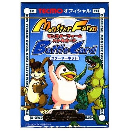 Monster Farm Battle Card Game Starter Deck - Blue (Farm Deck)