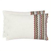Safavieh Holden Cotton Decorative Pillows in Multi (Set of 2)