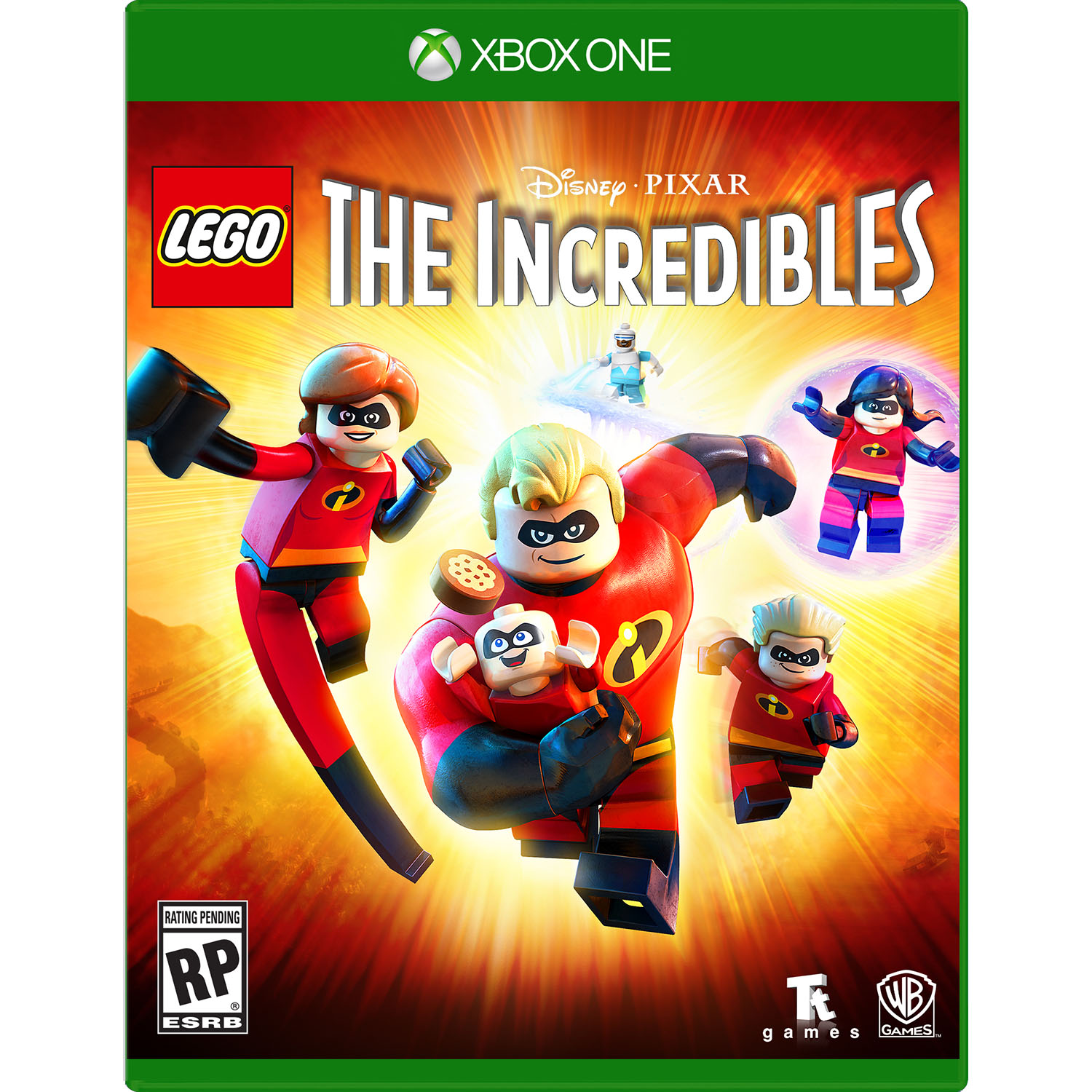LEGO Incredibles, Warner Bros, Xbox One, 883929633005
