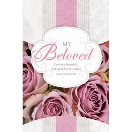 Bulletin-Wedding-My Beloved (Song Of Solomon 6:3 KJV) (Pack Of 100)](Wedding Bulletins)