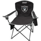 Coleman Quad Chair with 4- to 6-Can Cooler, Oakland Raiders
