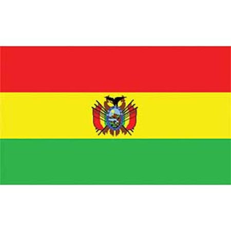 Bolivia Flag On A Stick 12