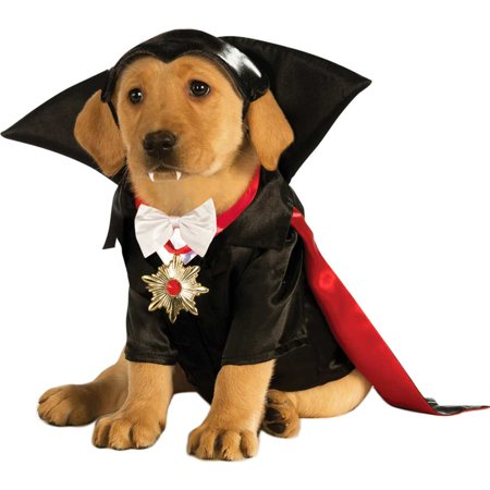 Halloween Dracula Dog Costume X-Large - Beer Dog Halloween Costume