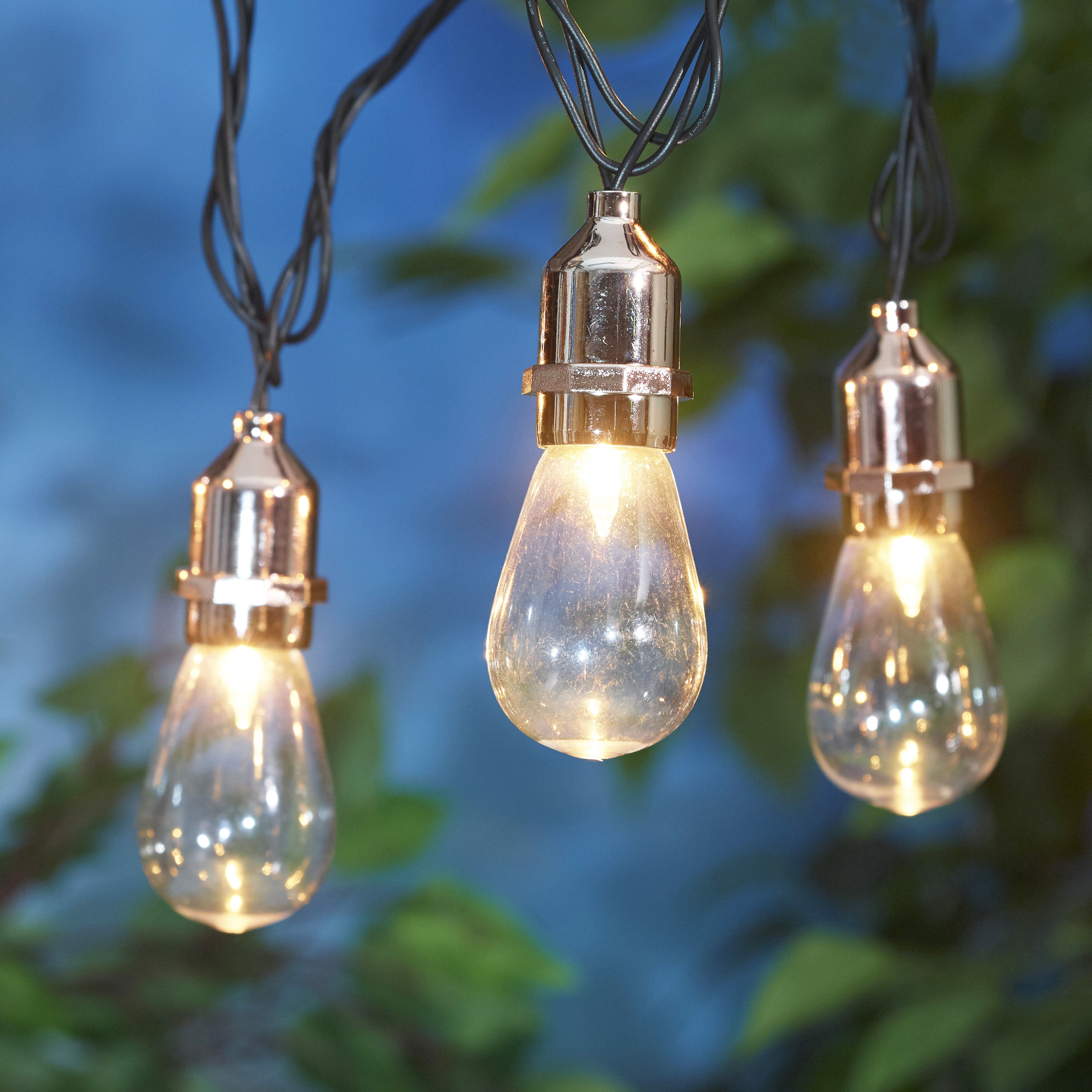 Mainstays Winnfield Edison Bulb Outdoor Light Set