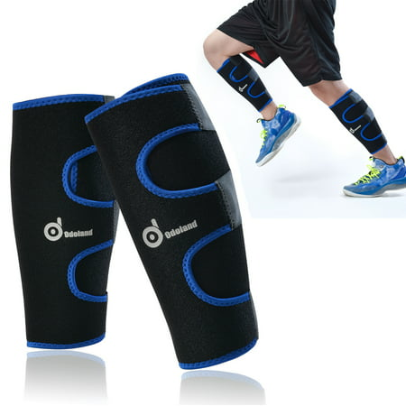53a44c4161 1Pair Shin Splints Compression Sleeves Running Socks Guard Calf Brace -  Walmart.com
