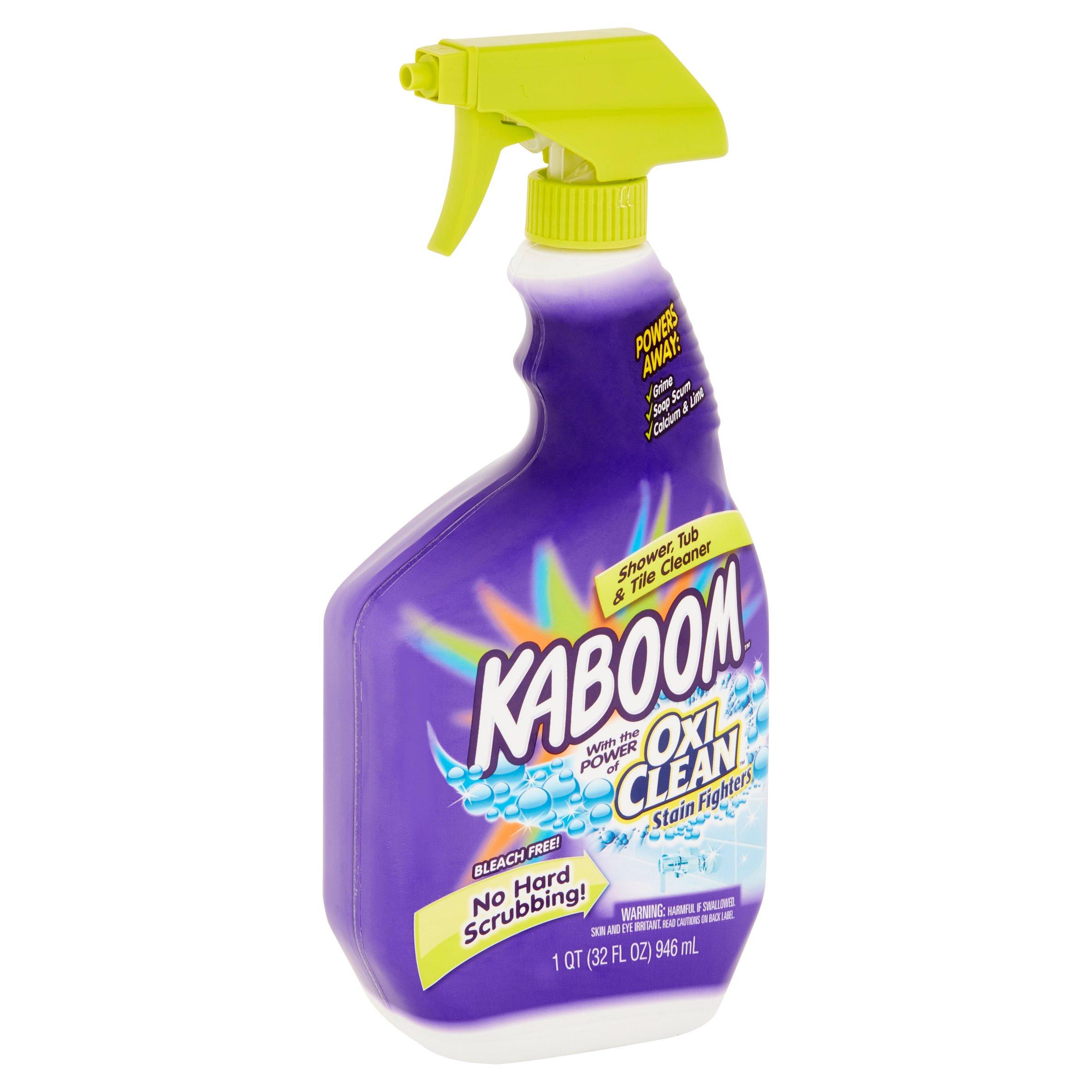 Kaboom Shower, Tub U0026 Tile Cleaner, 32 Fl Oz   Walmart.com