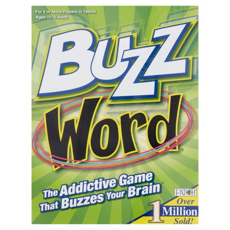 Buzz Words Game - French Halloween Word Games