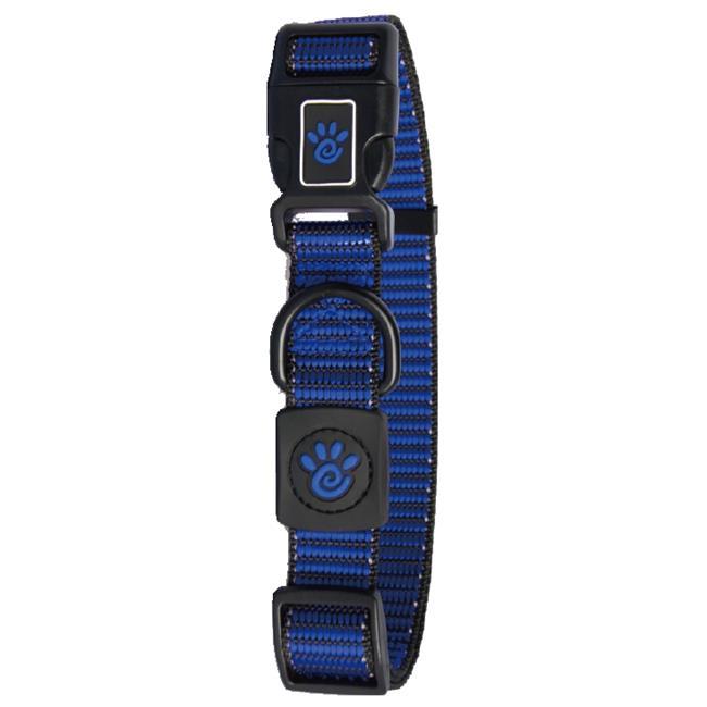 Doco DCS008-02XS Heavy-Duty Martini Bean Nylon Collar, Blue - Extra Small