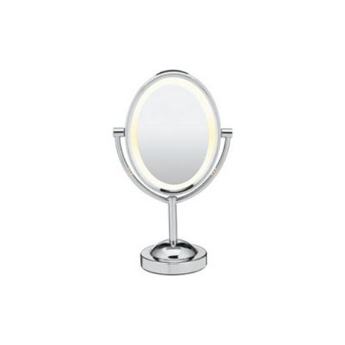 Conair  1x/7x Magnification Double-Sided Lighted Oval Mirror