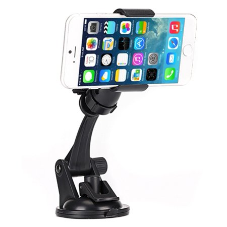 Easy One Hand Mount Car Holder Dash and Windshield Cradle N1E Compatible With HTC Bolt, U11, 10, U12 Plus - Huawei P9 P10, Mate SE, P30 Pro, Ascend XT, Vision 3 LTE, 9, Honor 8, 20, 7X, Pro