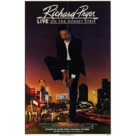 Richard Pryor Live on Sunset Strip POSTER Movie Mini Promo