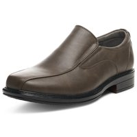 Alpine Swiss Mens Dress Shoes Leather Lined Slip On Loafers Good for Suit Jeans