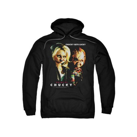 Bride Of Chucky Horror Comedy Movie Chucky Gets Lucky Adult Pull-Over Hoodie