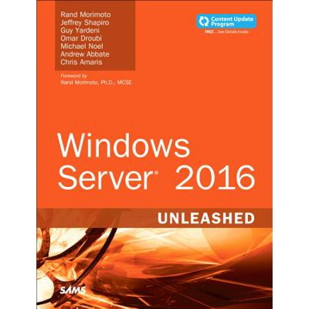 Windows Server 2016 Unleashed (Includes Content Update (Best Backup Program For Windows 8)