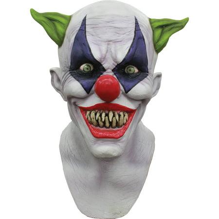 Creepy Giggles Adult Mask Halloween Costume Accessory (Creepy Halloween Movies)