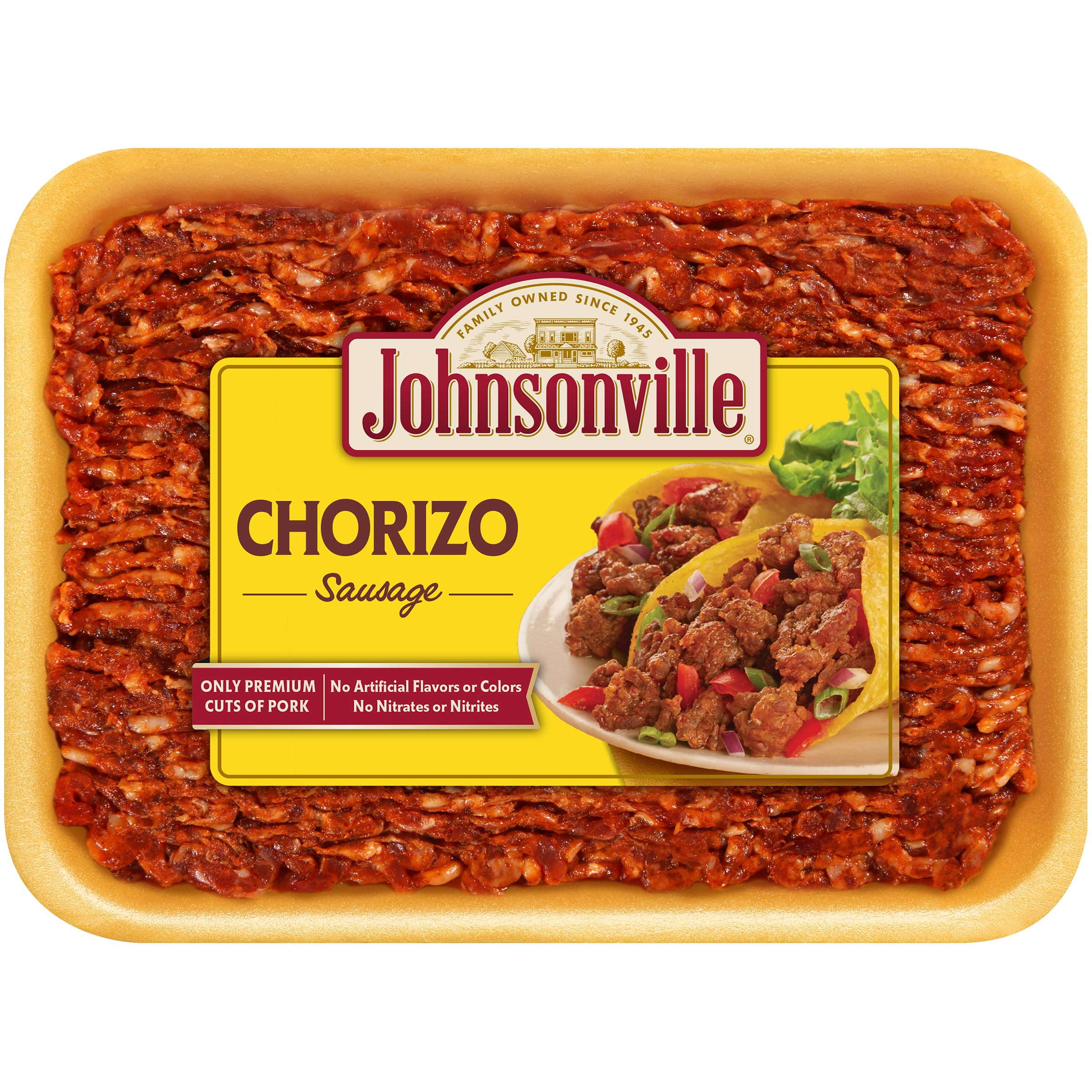 Johnsonville® Chorizo Sausage 16 oz. Tray (101503)