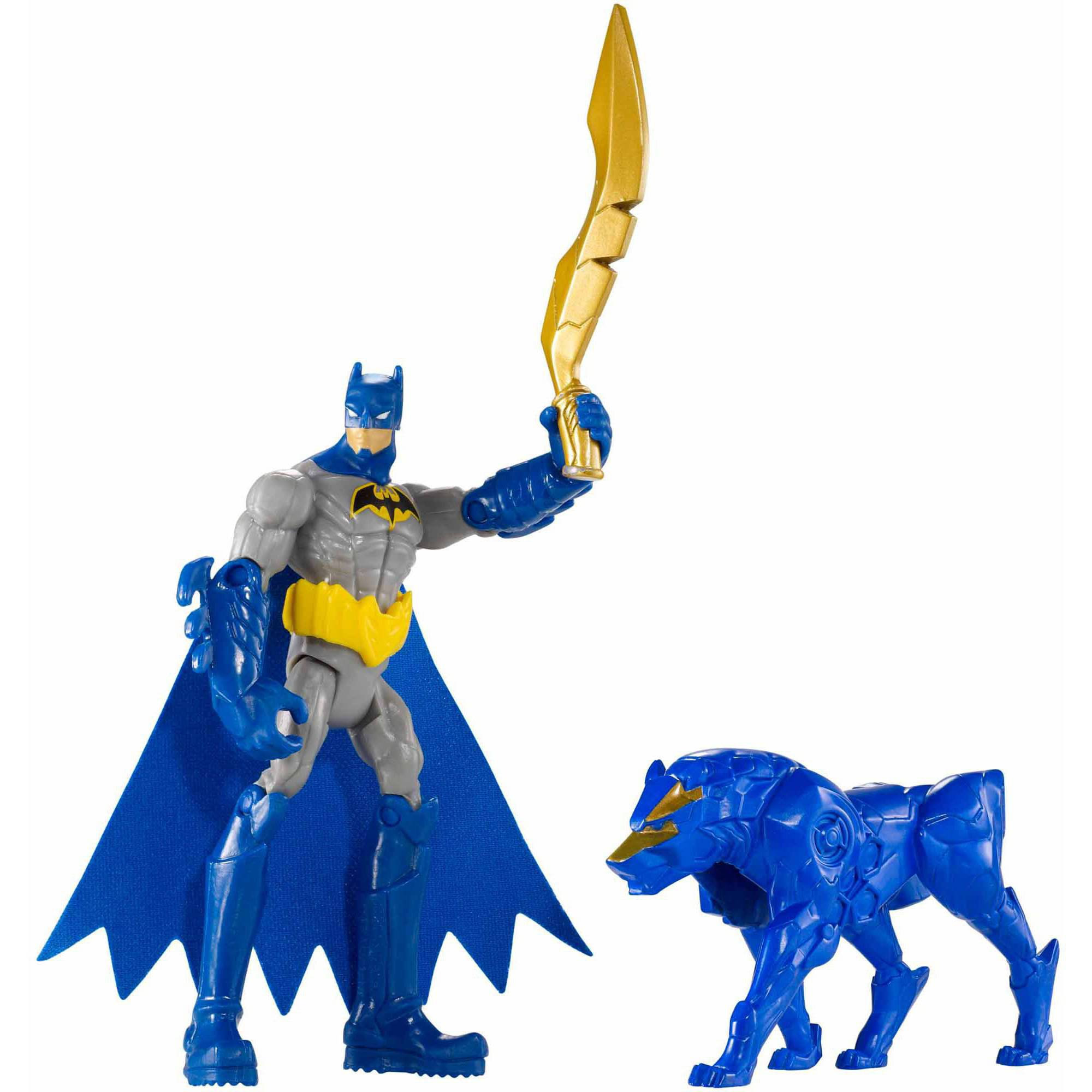 Batman and Blade Wolf Action Figure by Mattel