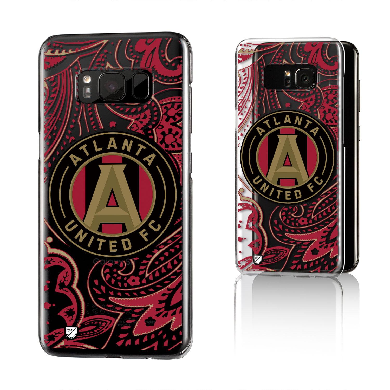 Atlanta United FC ATLUTD Paisley Clear Case for Galaxy S8