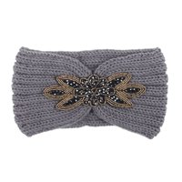 matoen Women Knitted Headbands Winter Warm Head Wrap Wide Hair Accessories