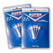 Nickel Plated Inflating Needles in Bulk Pack of 100