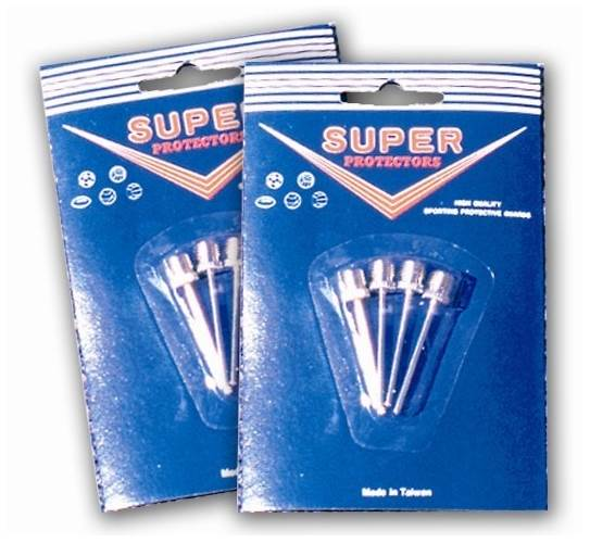 Nickel Plated Inflating Needles in Bulk Pack of 100