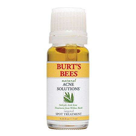 Targeted Solution - Burt's Bees Natural Acne Solutions Targeted Spot Treatment. 0.26 Fluid Ounces