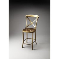 Butler Bennington Antique Gold Bar Stool