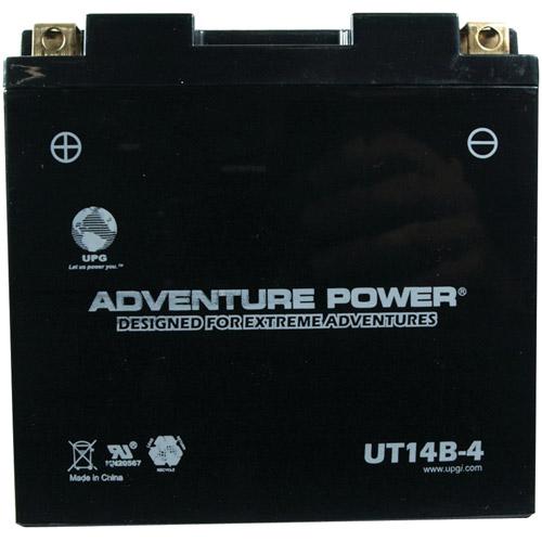 UPG 42018 UT14B-4 Sealed AGM Power Sports Battery