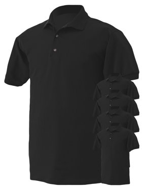 Product Image Gildan Mens Button-Down Polo Shirt c40fb814371a