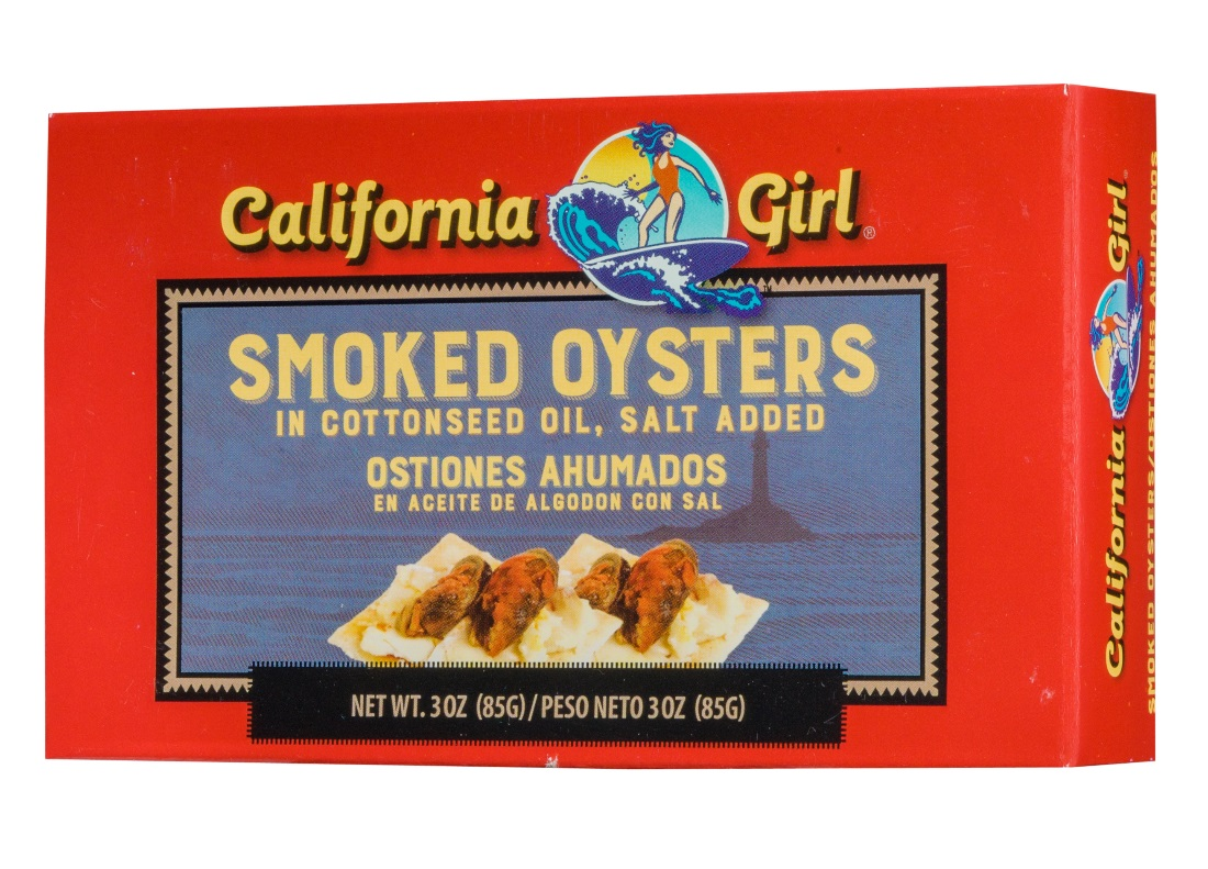 California Girl Smoked Oysters, 3 oz by Generic