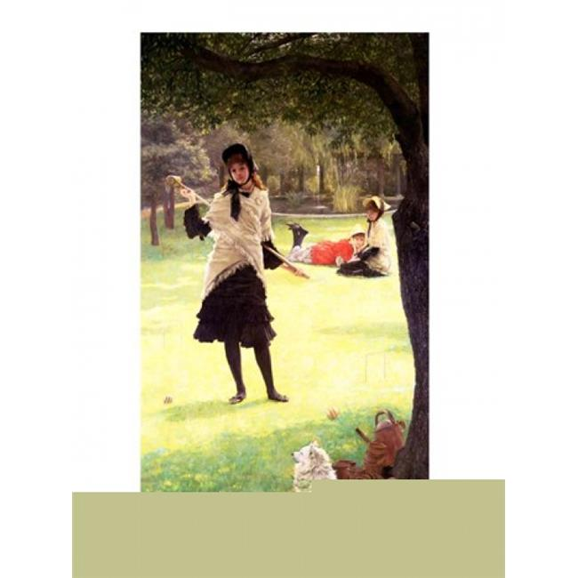 Posterazzi BALBAL18284 Croquet Poster Print by James Jacques Joseph Tissot - 18 x 24 in. - image 1 of 1