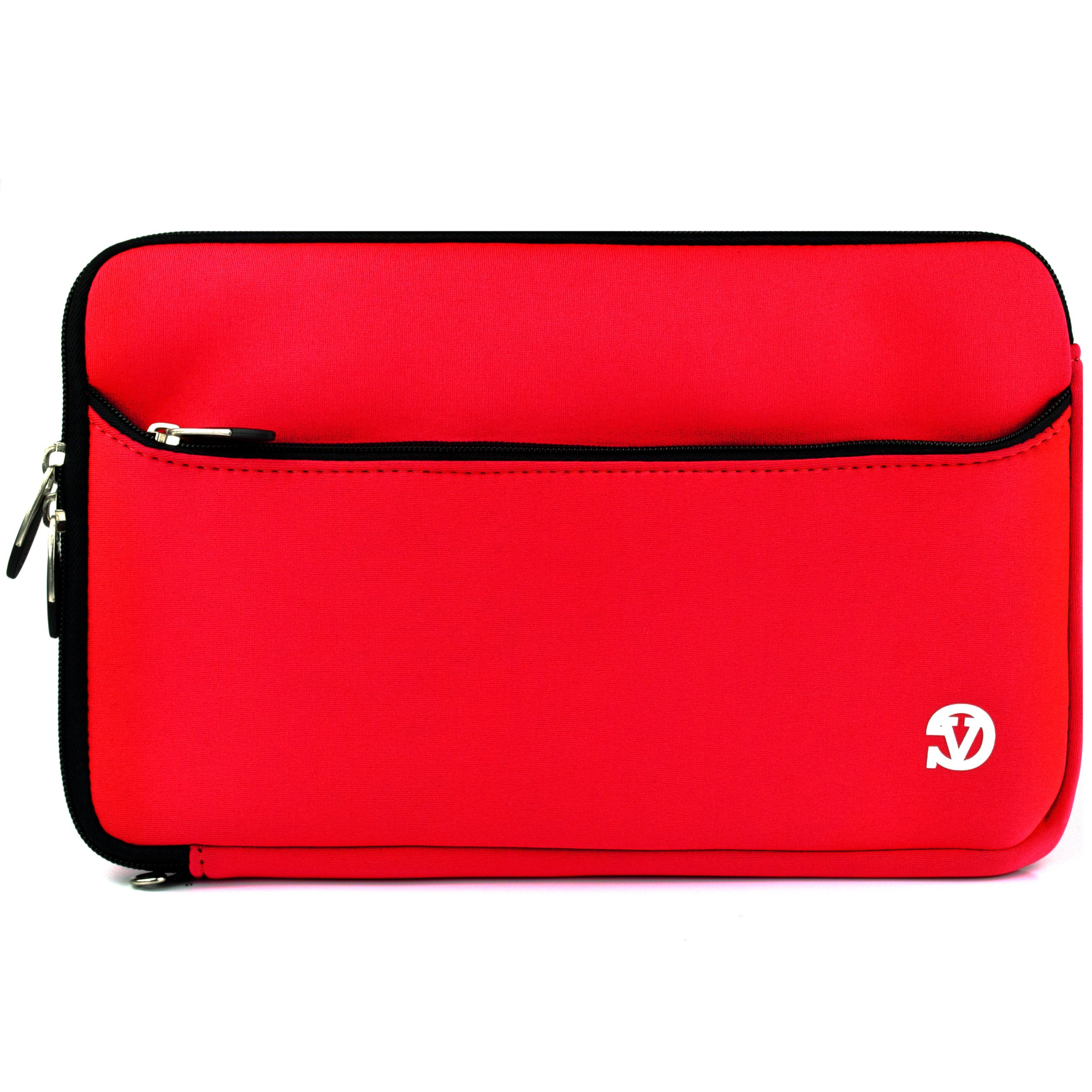 VANGODDY Neoprene Laptop / Notebook / Ultrabook Slim Compact Carrying Sleeve fits up to 12.9, 13, 13.3 inch Devices [Assorted Colors]
