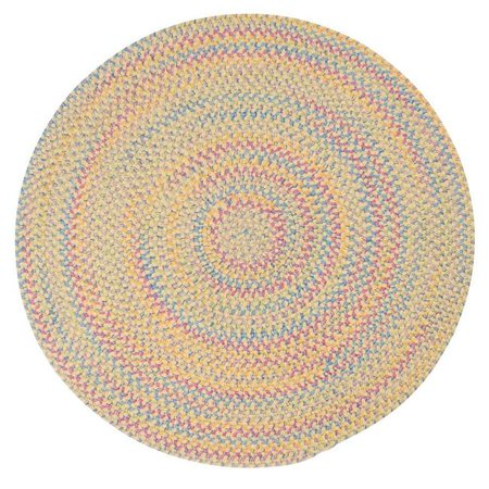 Colonial Mills BI30R036X036 3 ft. Botanical Isle Round Area Rug, Banana - image 1 of 1