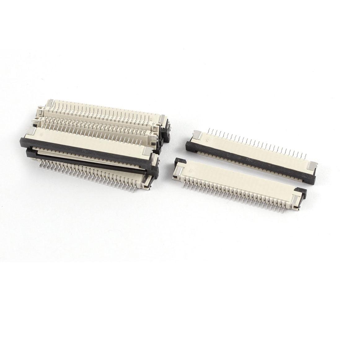 10Pcs Orifice inférieur 26broches 1.0mm hauteur nappe FPC Connecteur FFC