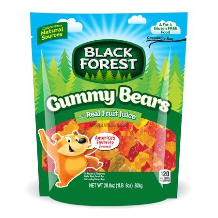 Black Forest Gummy Bears, saveurs assorties, 28,8 Oz