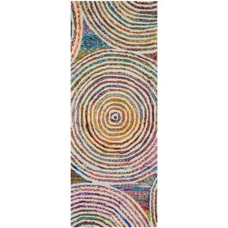 Safavieh Nantucket 9' X 12' Hand Tufted Cotton and Wool Rug in Beige - image 6 de 10