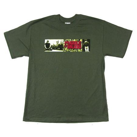 Puddle Of Mudd Photo Strip Green T Shirt