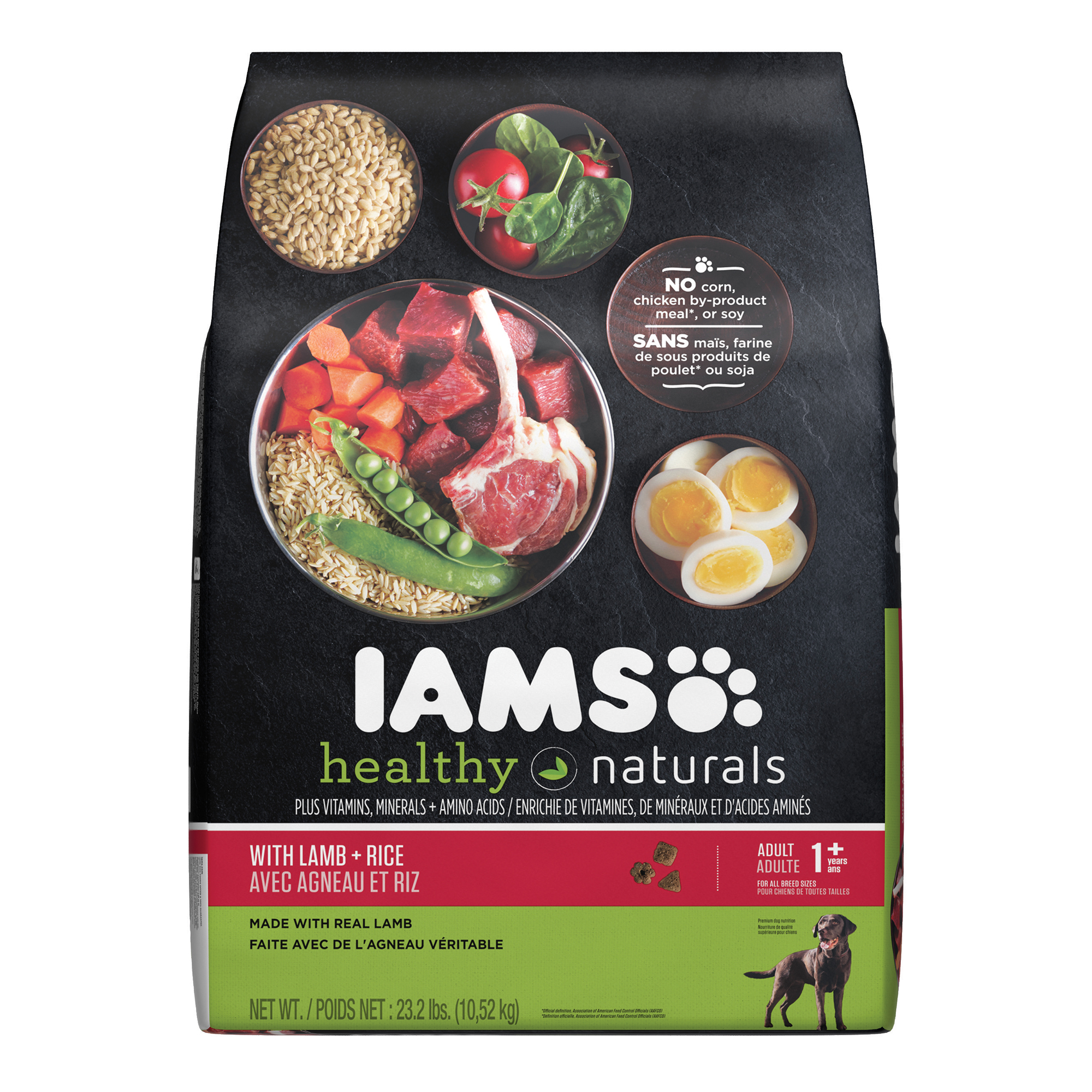IAMS HEALTHY NATURALS Adult With Lamb and Rice Recipe Dry Dog Food 23.2 Pounds