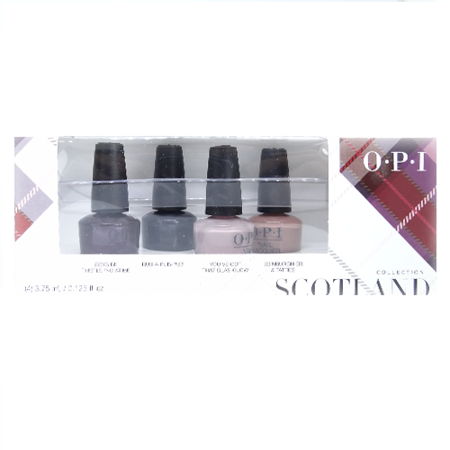 OPI Mini Scotland Collection Fall 2019 Nail Lacquer Set of 4 Mini's