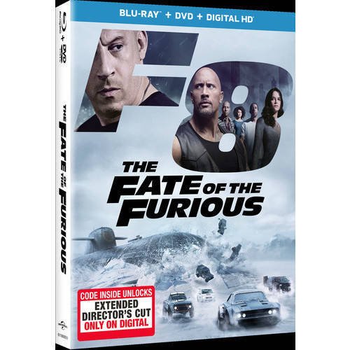 The Fate of the Furious (Blu-ray + DVD + Digital HD) (VUDU Instawatch Included)
