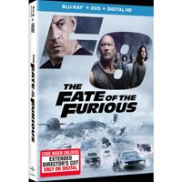 The Fate of the Furious (Blu-ray + DVD + Digital HD)