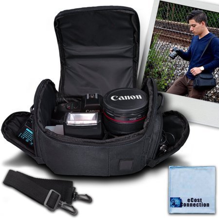 Medium Soft Padded Camera Equipment Bag Case For Nikon 1 S2 1 J4 D300 D300S D3000 D3100 D3200 D5000 D5100
