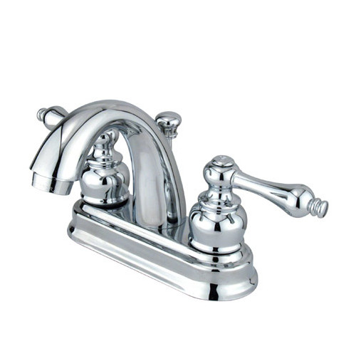 Elements of Design Restoration Centerset Bathroom Faucet with Drain Assembly